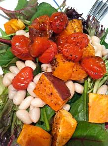 Cannellini-Bean-&-Roast-vegetable-Salad