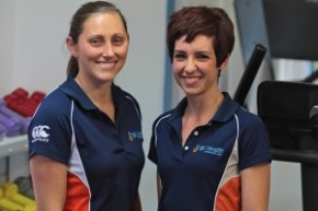 Sarah & Sharnee, two of our Exercise Physiologists