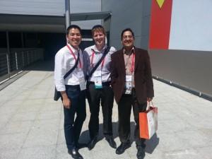 Phil, Shashank & I