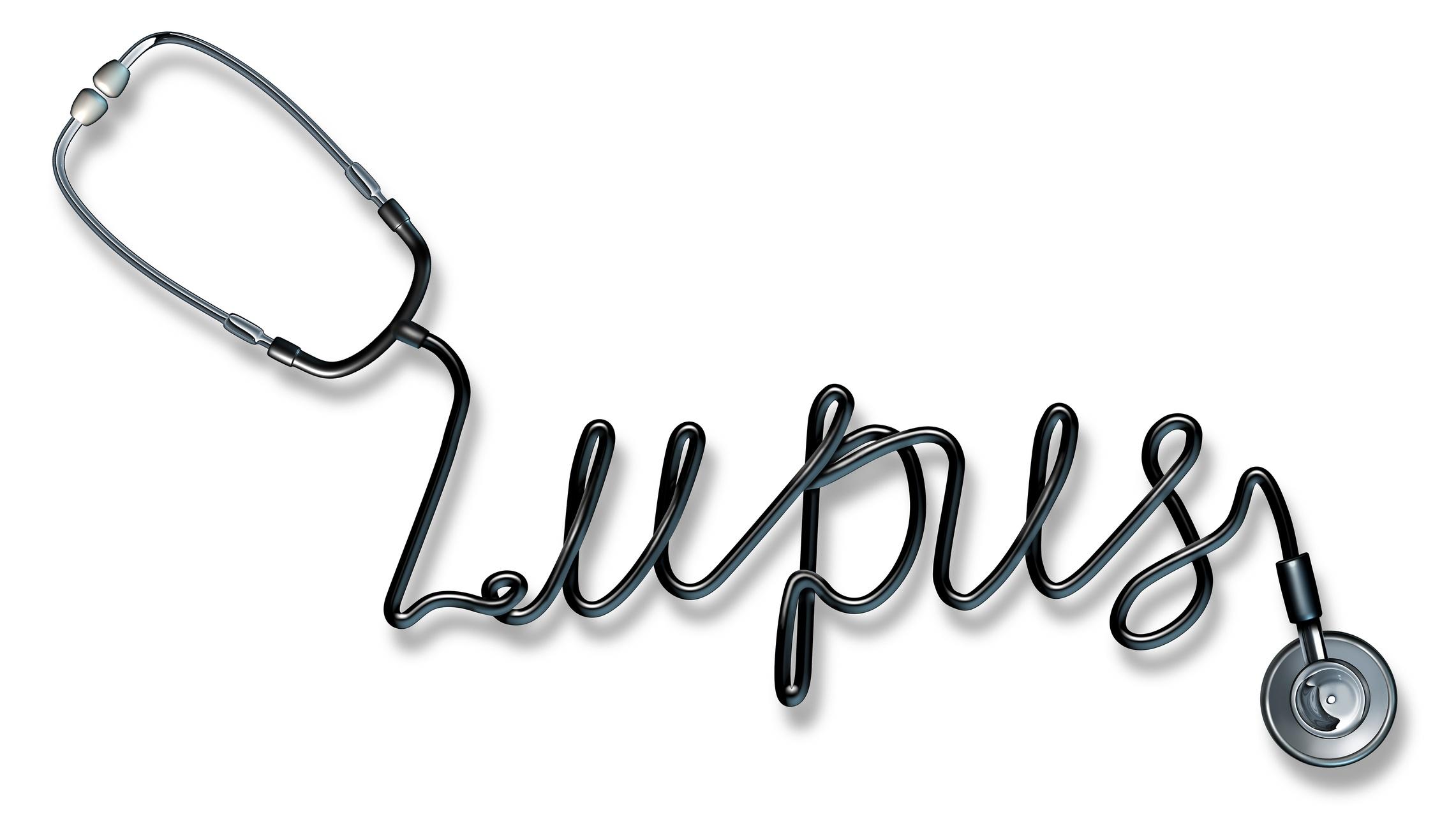 lupus written in stethoscope cord (1)