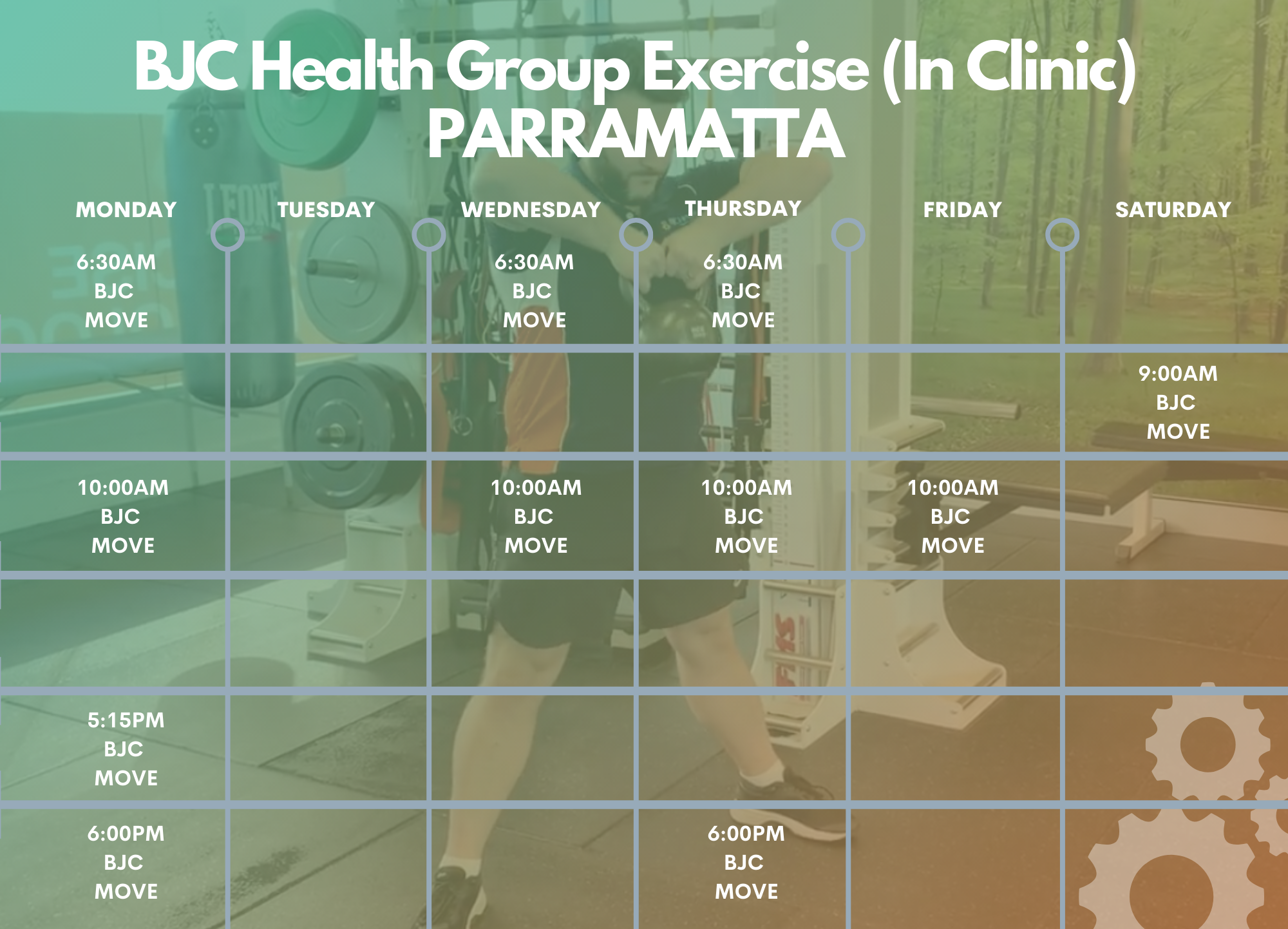 BJC health group exercise  in clinic