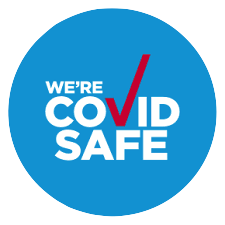Covid safe logo image-1